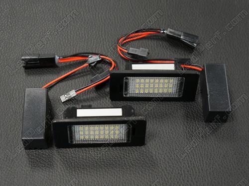 Pack LED Module zur Beleuchtung des hinteren Kennzeichens des Audi A6 C7