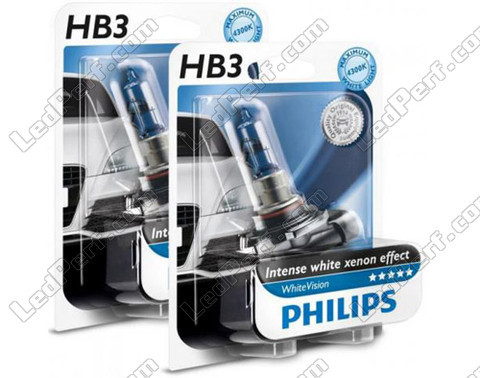 Pack mit 2 HB3 9005-Lampen Philips WhiteVision