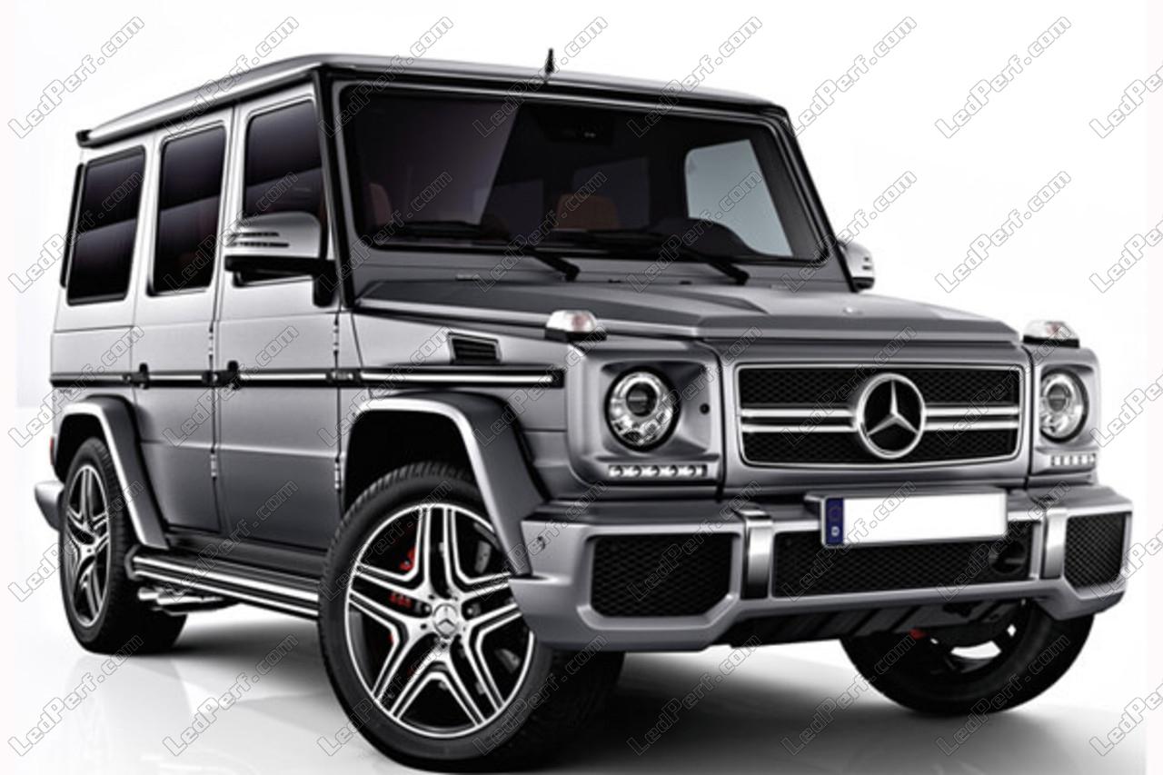 Mercedes  G Model Blinkleuchten Lampensatz  weiß