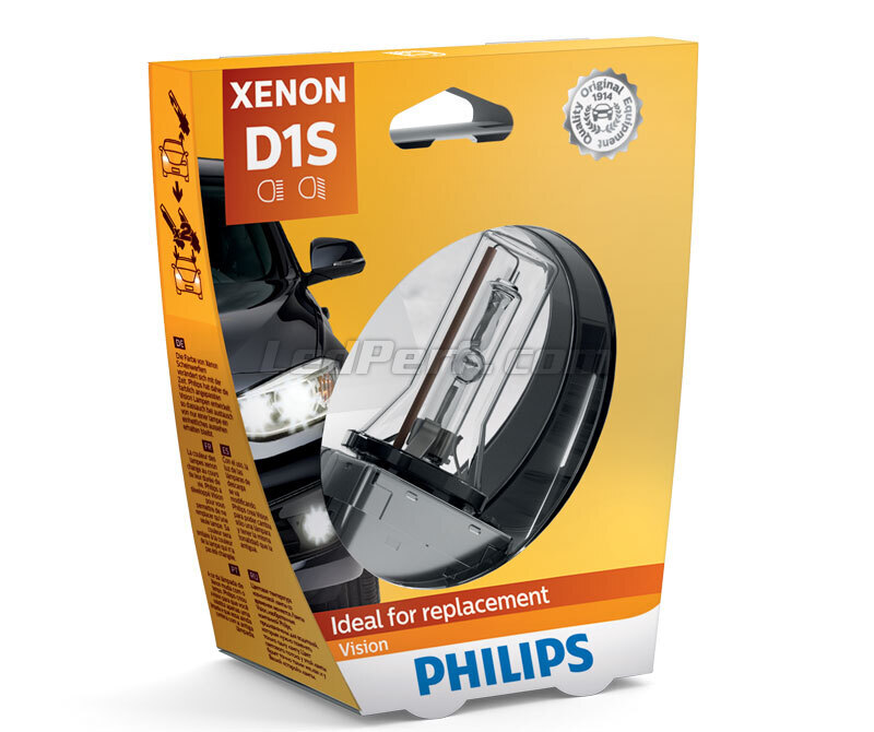 Lampe D1S Philips Vision 4400K - 85415VIC1