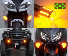 LED-Frontblinker-Pack für Harley-Davidson Fat Boy  1450