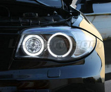 Pack LED-Angel-Eyes (reines Weiß) für BMW Serie 1 Phase 2 - MTEC V3.0