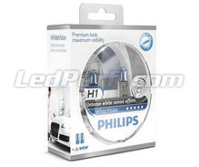 Pack mit 2 Lampen H1 Philips WhiteVision (Neu!)