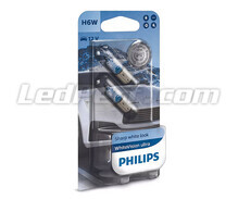 2er-Set Halogen-Lampen Philips WhiteVision - Weiß - Base H6W