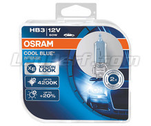 Pack mit 2 Lampen HB3 Osram Cool Blue Intense