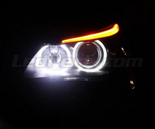 Pack LED-Angel-Eyes für BMW Serie 5 (E60 61) Phase 1 - Mit Original-Xenon - Standard