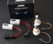 Pack Angel Eyes-LEDs -  BMW Serie 7 (F01 F02) - mit Xenon Originalmaterial - MTEC V3.0